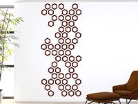 Wandbanner Hexagone | Bild 3