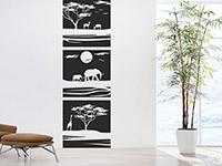Wandbanner Afrika Savanne | Bild 2