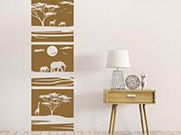 Wandbanner Afrika Savanne | Bild 3