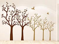 Wandtattoo Baumreihe | Bild 2