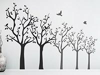 Wandtattoo Baumreihe | Bild 3