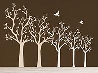 Wandtattoo Baumreihe | Bild 4