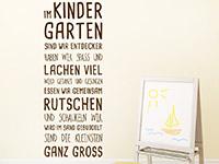 Wandtattoo Im Kindergarten | Bild 2