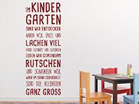 Wandtattoo Im Kindergarten | Bild 3
