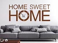Wandtattoo Uhr Sweet home | Bild 2