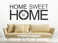 Wandtattoo Uhr Sweet home | Bild 3