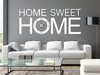 Wandtattoo Uhr Sweet home | Bild 4