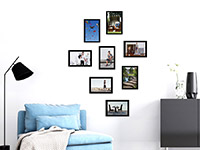 Wandtattoo Fotorahmen Modern Set | Bild 3