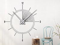 Wandtattoo Uhr Moderne Zeit