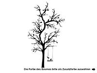 Wandtattoo Verzweigter Baum Motivansicht
