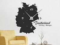 Wandtattoo Uhr Deutschland