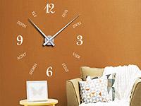 Wandtattoo Uhr Schrift und Zahlen | Bild 4