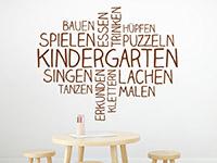 Wandtattoo Kindergarten Wortwolke | Bild 2