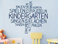 Wandtattoo Kindergarten Wortwolke | Bild 3
