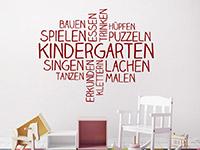 Wandtattoo Kindergarten Wortwolke | Bild 4