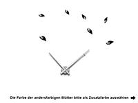 Wandtattoo Uhr Ast mit Vögeln Motivansicht