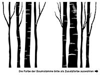 Garderobe Wald-Flair Motivansicht