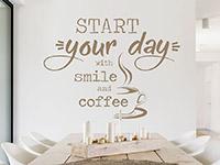 Wandtattoo Start your day | Bild 2