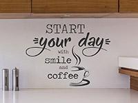 Wandtattoo Start your day | Bild 3