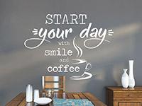 Wandtattoo Start your day | Bild 4