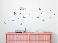 Wandtattoo Zusatzset Schmetterlingsblüten | Bild 2