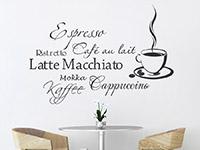 Wandtattoo Kaffee Aroma | Bild 2