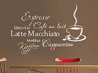 Wandtattoo Kaffee Aroma | Bild 4