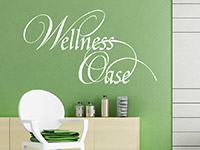 Wandtattoo Wellness Oase | Bild 4