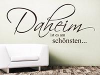 Wandtattoo Daheim ist es am schönsten... | Bild 3