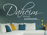 Wandtattoo Daheim ist es am schönsten... | Bild 4