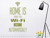 Wandtattoo Wi-Fi | Bild 4