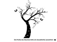 Wandtattoo Kinderbaum Motivansicht