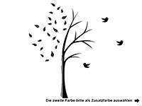 Wandtattoo Kreativer Baum Motivansicht