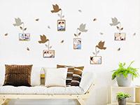 Wandtattoo Vögel mit Fotorahmen | Bild 2