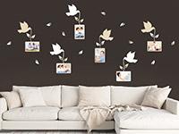 Wandtattoo Vögel mit Fotorahmen | Bild 4