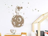 Wandtattoo Kleiner Astronaut mit Sternen | Bild 3