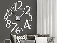 Wandtattoo Uhr Modern