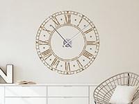 Wandtattoo Vintage Uhr | Bild 2