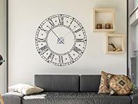 Wandtattoo Vintage Uhr | Bild 3