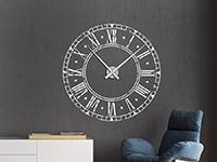 Wandtattoo Vintage Uhr | Bild 4