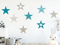Wandtattoo Coole Sterne | Bild 3