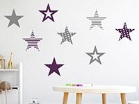 Wandtattoo Coole Sterne | Bild 4