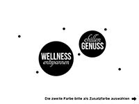 Wandtattoo Wellness Kreise Motivansicht