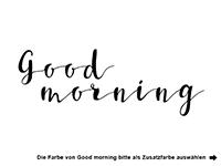 Wandtattoo Good Morning Sunshine mit Sonne Motivansicht