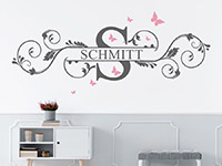 Wandtattoo Name als Ornament | Bild 3