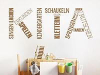 Wandtattoo Kita Kindergarten Begriffe | Bild 2