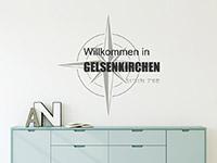 Wandtattoo Willkommen in deiner Stadt | Bild 3