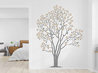Wandtattoo Magnolien Baum | Bild 2