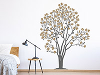 Wandtattoo Magnolien Baum | Bild 3