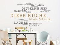Wandtattoo Diese Küche ist ein Ort | Bild 2